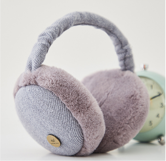 2019 Unisex New Cute Foldable Colorful Earmuffs Earwarmers Ear Muffs Earlap Winter Women Girl Ear Muffs Earlap