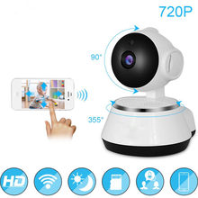 720P WiFi IP Camera Baby Monitor Portable HD Wireless Smart Baby Camera Audio Video Record Surveillance Home Security Camera(China)
