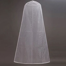 Dust Proof Cover Bridal Gown Wedding Dress Storage Bag Breathable Clear Garment