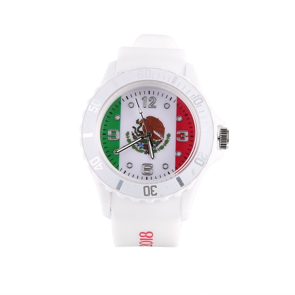 2018 Football Watch Theme Quartz Watch Silicone Wristwatches With Russia  Logo Unisex Fashion Sports Watches