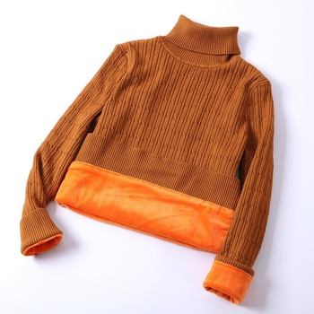 2019 Winter Women's thick Turtleneck Sweater Knitted Women Pullover Women Sweater Jumper Truien Dames Tops Turtleneck Sweater