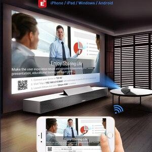 Image 4 - Smartldea P11 cep 4K 3D projektör android9.0 2.4G 5G wifi Bluetooth5.0 ev projektör 4G RAM 32G ROM seçeneği video oyunu beamer