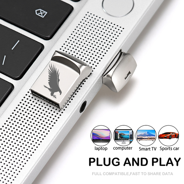 JASTER Mini metal USB flash drive 4G 8G 16GB 32GB 64GB 128G Personalise Pen Drive USB Memory Stick U disk gift Custom logo 5