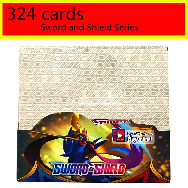 TAKARA TOMY 324 pièces Pokemon soleil & lune caché préféré boîte à cartes à collectionner jeu de cartes à collectionner enfant cadeau jeu CollectionToy (lot de 324)
