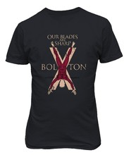 Мужская футболка с изображением престолов дома Болтона