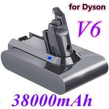 Dyson bateria 38000mAh 21.6V Bateria Li-ion para Dyson dc62 V6 DC58 DC59 DC61 DC62 DC74 SV07 SV03 SV09 Bateria Aspirador de pó