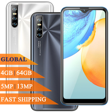 Note 9 Pro 4G Ram 64G Rom 6 26Inch Gezicht Id Erkenning Smartphones Water Drop Screen Unlocked Android mobiele Telefoons Mobiele Telefoons cheap BYLYND Detachable Andere Cn (Oorsprong) Gezichtsherkenning 13MP 3200 Adaptieve Fast Lading english Russisch Duits French