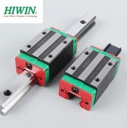 1 sztuk oryginalny prowadnica liniowa HIWIN szyny HGR15-1000mm + 2 sztuk HGH15CA wąski liniowy blok przewóz łożyska dla CNC części stołu xy