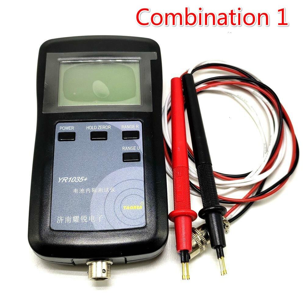 Nouveau Original quatre lignes YR1035 batterie au Lithium résistance interne mètre testeur YR 1035 détecteur 18650 batterie sèche combinaison 1
