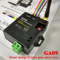 Smart Designed Home Security GSM Alarm System SMS & Calling Wireless Alarm GA09|Anti-Lost Alarm| |  -