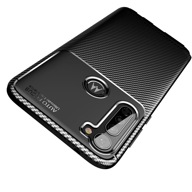 Case For Moto G Stylus Edge Plus E7 E6 Z4 Play One Fusion Plus G8 G7 Power, [Anti-Slip] [Anti-Scratch] Flexible Protective Cover