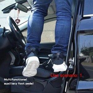 Image 4 - Tonlinker 4 in 1 Multifunktions Auto Klapp Schritt Leiter Hilfs Auto Einfach Zu Die Dach Zugang Fuß Pedal Mit Sicherheit hammer Teile