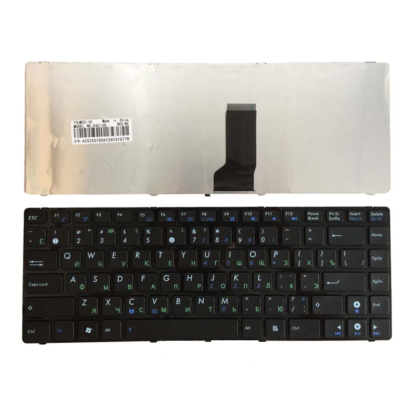 New RU Russian Keyboard For ASUS A44H A44HR A44HY A44L A44LY X44C X44H X44HR Laptop Frame Black