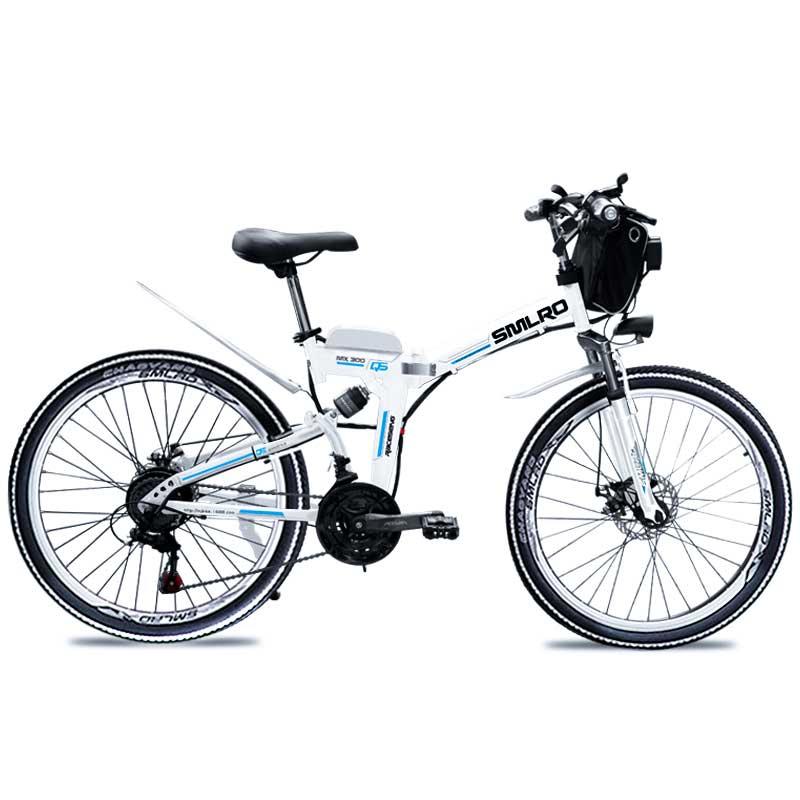 Nouveau produit batterie au lithium 26 pouces 350W 48V 10AH vélo électrique 21 vitesses VTT pas cher prix pliant e vélo à vendre