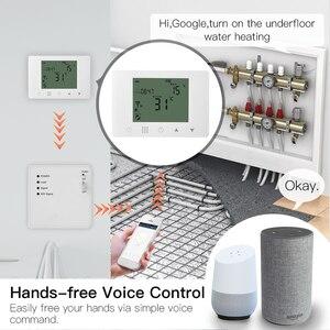 Image 2 - WiFi inteligentny termostat ścienny wody podłogowe temperatura podgrzewania kontroler współpracuje z Alexa Google domu