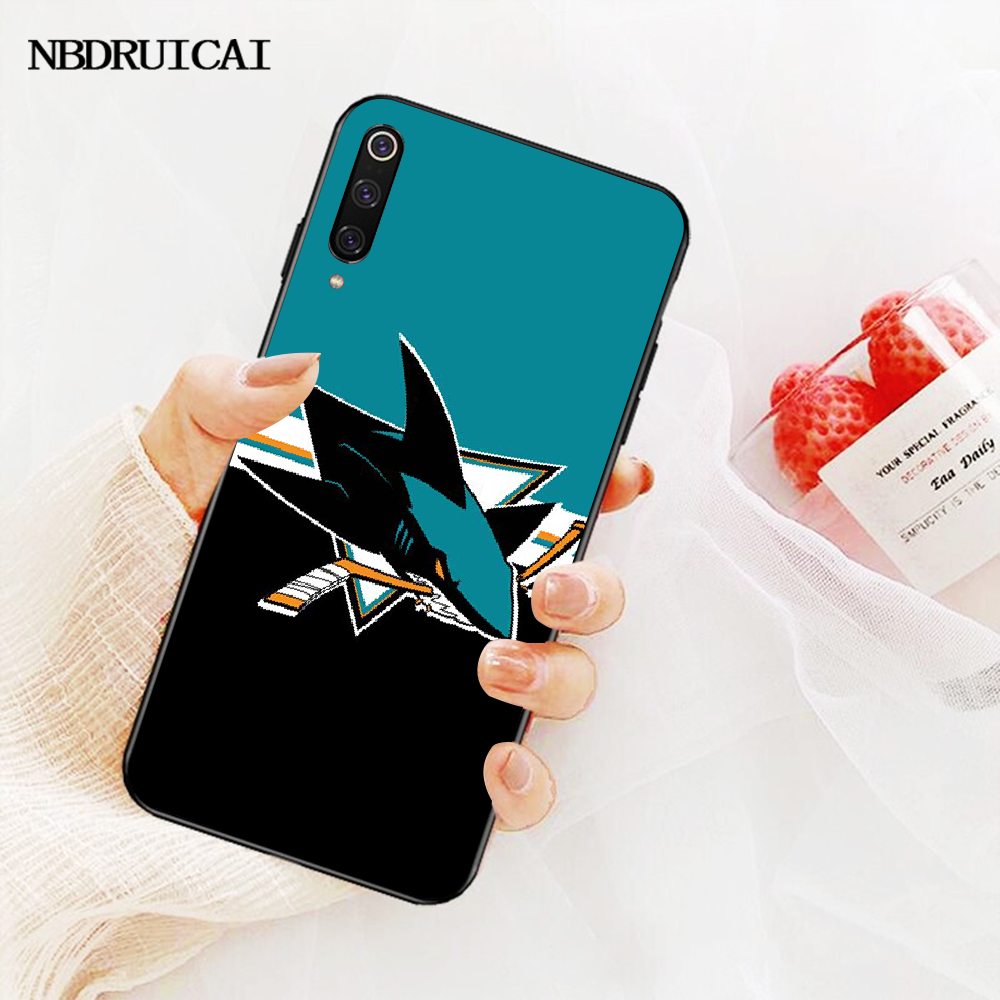 NBDRUICAI futerał na telefon do hokeja na rekin dla Redmi Note 8 8A 7 6 6A 5 5A 4 4X 4A Go Pro Plus Prime