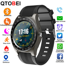 цена на Bluetooth Call HD Touch Screen Smart Watch Men Women V5 Smartwatch Call Sedentary Reminder Smart Watch Band For Android IOS