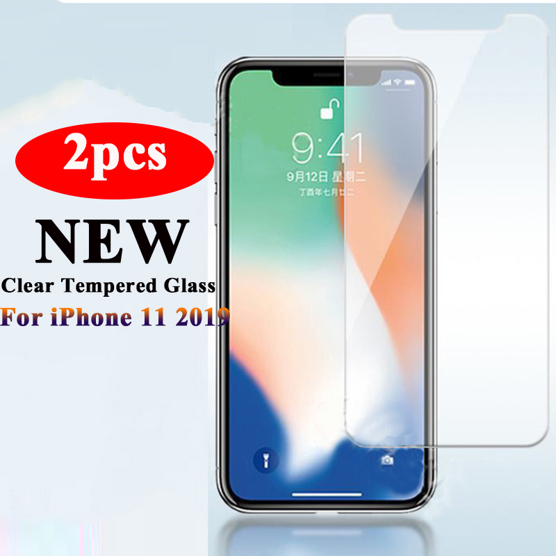 2Pcs iPhone11Pro Glass for iPhone 11 Pro 2019 Tempered Glas for iPhone 11 Pro Max Screen Protector aiphone 11Pro Protective Film