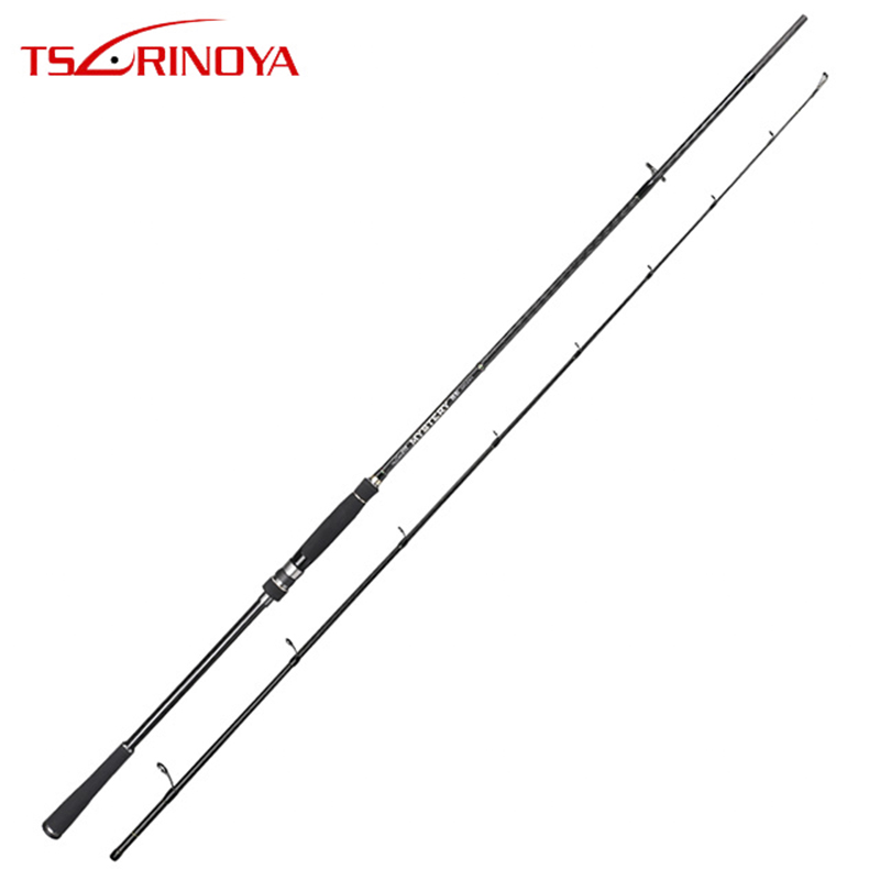 TSURINOYA Spinning Fishing Rod MYSTERY X-WRAP Carbon MH Power 2.4m/2.7m FUJI Guide Ring Durable Sensitive Sea Bass Snakehead Rod