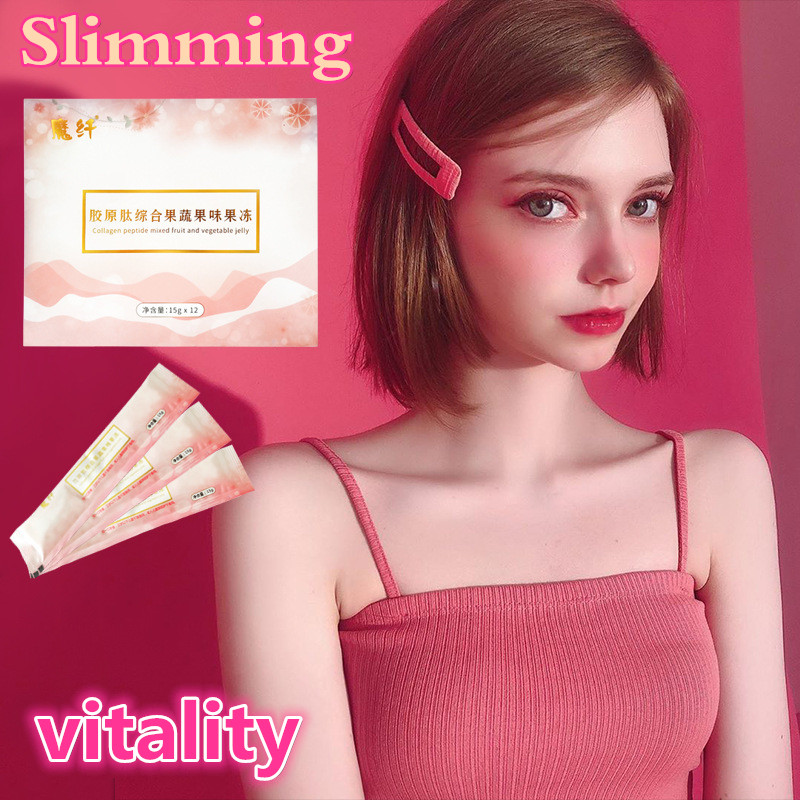 Slimming Jelly Kit Abdomen Fat Burning Diet Boosts Metabolism Slimming Lose Weight Slim Anti Cellulite Thin Belly Effective