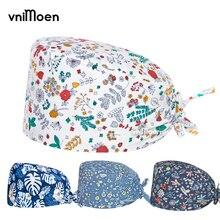 Hats Scrubs-Caps Quirofano Vnimoen Gorro Pet-Shop Adjustable Mujer High-Quality
