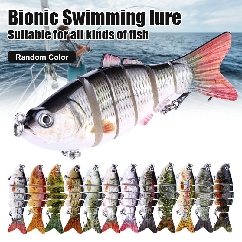 1/3/5 Pcs Bionic Swimming Lure Fishing Bait 10cm Accessories For All Kinds Of Fish Drop Shipping
