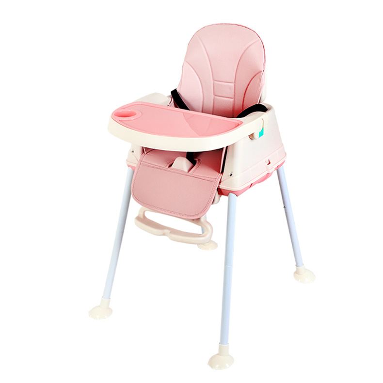 Plastic Folding Chair For Kids  Furniture Children Toddler Chair Dining Table Chair Seat Foldable Portable Baby High Chair
