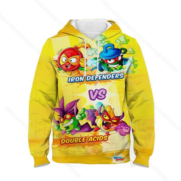 Kids 3D Print Super Zings Hoodie Autumn Winter Children Superzings 6 Series Sweatshirt Sudadera Boy Girl Cartoon Anime Pullover 10