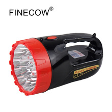 High-power LED searchlight strong light long-shot 18LED flashlight waterproof searchlight for hunting and camping