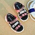 Детские Тканевые сандалии летние для мальчиков детская пляжная обувь для девочек Удобная садовая обувь детская повседневная обувь с медве...