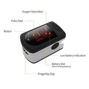 Image 5 - New Digital Fingertip Finger Pulse Oximeter Finger Heart Rate Monitor Oximetro Pulsoximeter Oximeter on the Finger LED Display