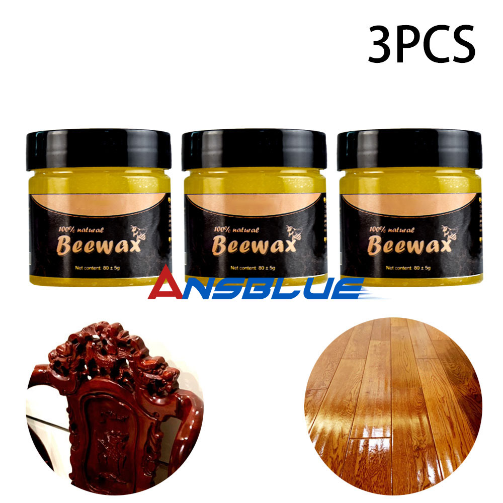1/3 Pcs Wood Seasoning Beewax Complete Solution Furniture Beeswax Care