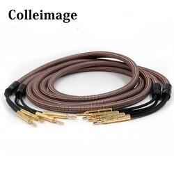 Colleimage Hifi kabel głośnikowy Accuphase OCC miedzi o wysokiej czystości przewód głośnikowy do wzmacniacza i głośnik