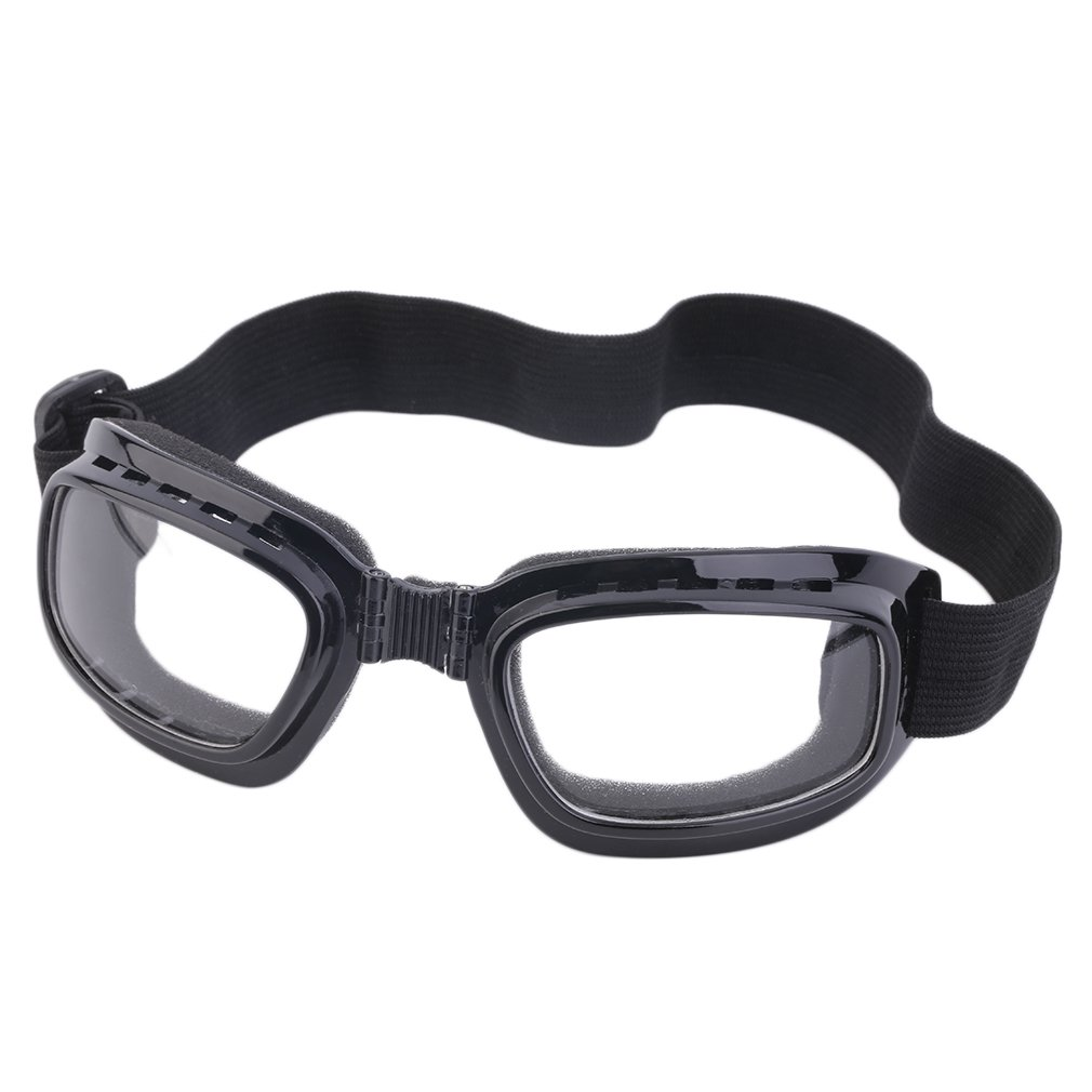 Bicycle Cycling Safety Foldable Windproof Goggles Anti-Fog Sun Windproof Sport Biker Glasses Protective Safety Goggles