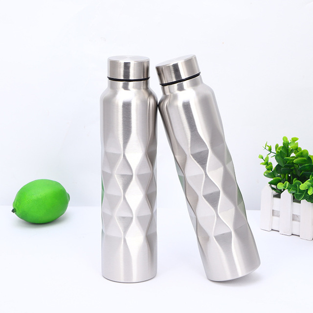 1000ml Single-wall Stainless Steel Water Bottle (NOT Thermos) Gym Sport Bottles Portable Large-capacity sports bottle 1