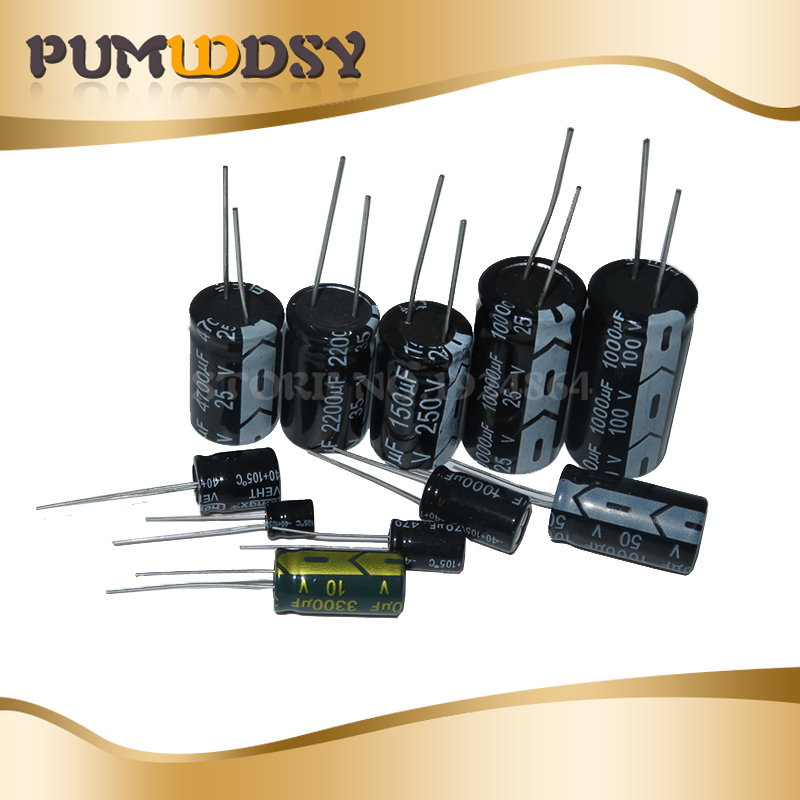-882 22uF 16V B SMT Electrolytic Capacitors Pack of 50