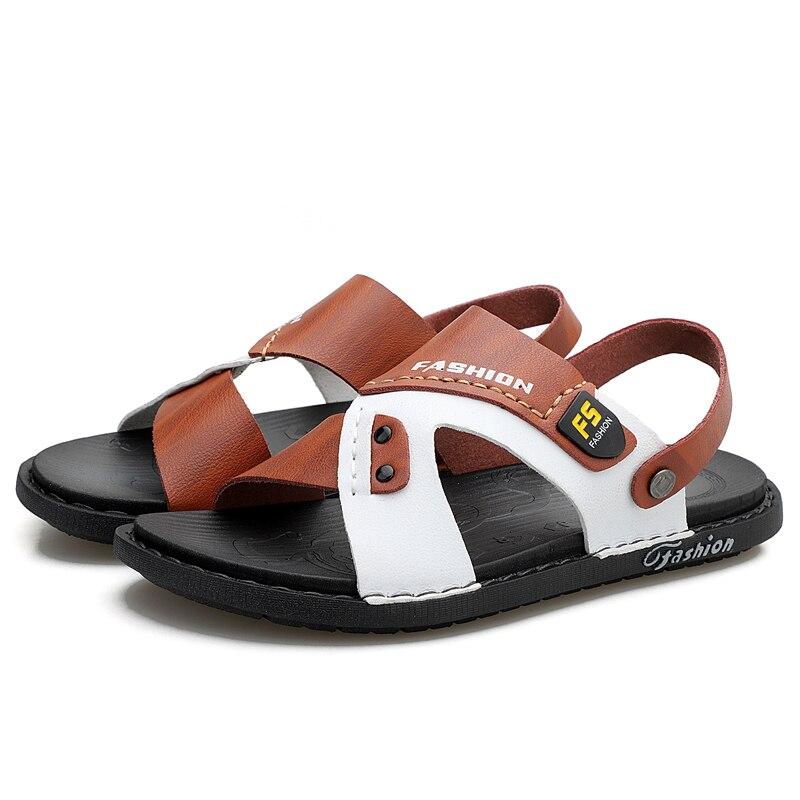 2021 летние модные мужские повседневные сандалии; Дизайнерская обувь; Мужская обувь; Zapatos De Hombre; Мягкая обувь на нескользящей подошве; Износос...