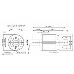 Image 4 - 15 diş DC Motor değiştirme için 10.8V 12V BOSCH GSR 1080 2 Li TSR1080 2 LI GSR1200 2 LI GSR1080 2 LI akülü matkap sürücüsü