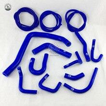 Zestaw silikonowych węży chłodnicy + wąż do odkurzacza zestaw do 88 91 Honda Civic/CRX EE EF/CR X Base/DX/HF/Si (13 sztuk)