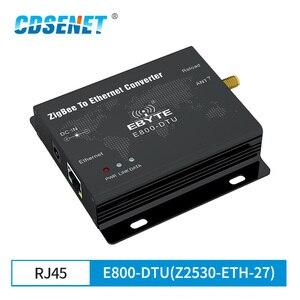 Image 1 - وحدة إرسال واستقبال البيانات اللاسلكية ، CC2530 ZigBee Ethernet ، 27dBm TCP UDP ، بعيد المدى ، شبكة مخصصة 500mW ، جهاز إرسال واستقبال