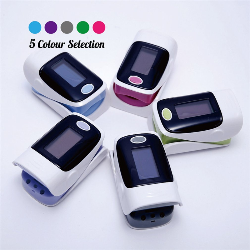 Medical Pulse Oximeter Blood Oxygen Heart Rate Saturation Meter Monitor SPO2 OLED Digital Display Oximetro De Pulso CE