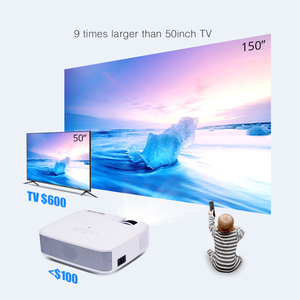 Image 2 - BYINTEK C520 2020 latest Mini Projector Portable LED for Cell Phone 1080P 3D 4K home movie theater (Optional Android 10 TV Box)