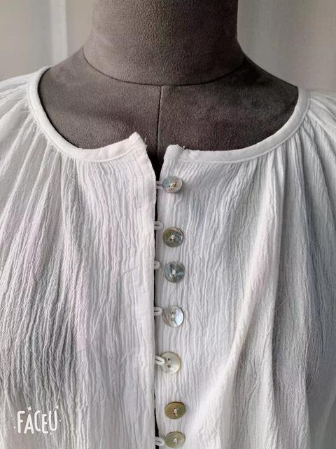 New Spring Vintage White Shirt female Oversize Tops Women Long sleeve Girls Blouse Summer New Women Blouses femme Blusas 6