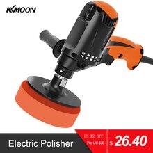KKMOON Professional 980W Electric Car Polisher Polishing Machine Six Gears Adjustable Speed Car Electric Polisher Waxing Machine