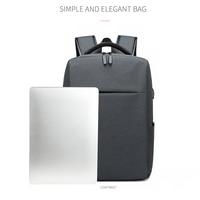 Mochila masculina impermeável  mochila masculina feita em tecido impermeável com entrada para carregador usb e tecnologia à prova de furtos  comporta laptops de 15 polegadas  para viagem