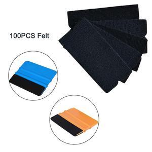 Image 1 - EHDIS 100 Uds película de vinilo de fibra de carbono revestimiento para coche escurridor de tela de borde de fieltro ventana tintes herramienta accesorios de coche pegatinas herramienta