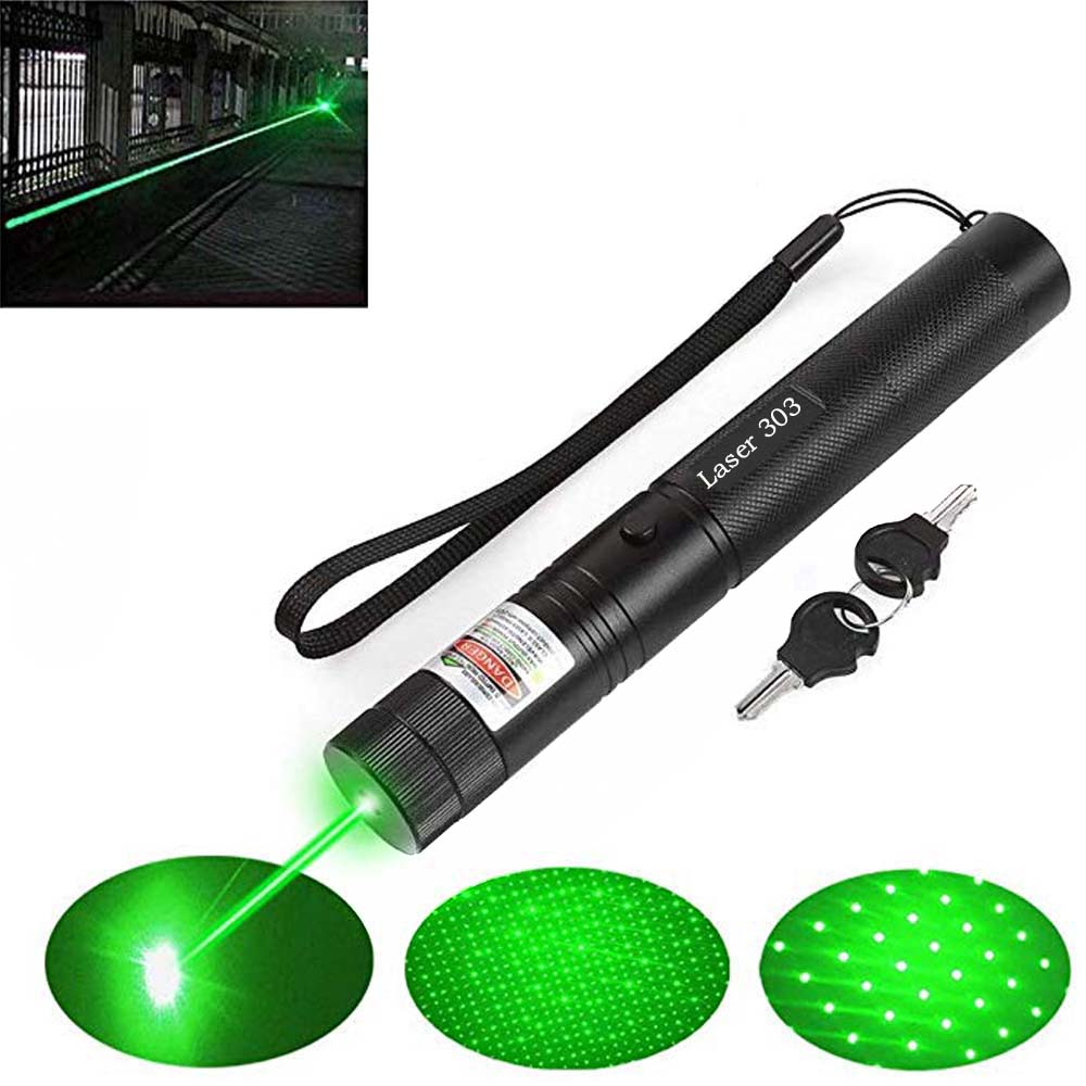 Green Laser Pointer 4 Colors Hight Powerful 10000 M 5mw Lasers Sight Lazer Pen Burning Match With Lasers 303