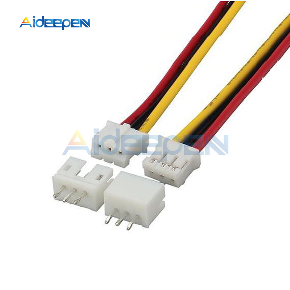 PH 3Pin 2.0mm Wire Cable Connector PH 2.0 Male & Female Connector Plug Connector 20CM Wires Cables