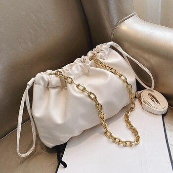 Chain Design S Shape Bags For Women 2020 Fashion Crossbody Shoulder Messenger Bag Female Handbags And Purses