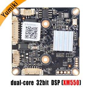 """Image 2 - H.265AI/H.265 +/H.264 5MP 15fps 2592*1944Pixel XM550AI + SC335E 1/2. 5 """"لوحة وحدة كاميرا IP HD إضاءة سوداء ONVIF"""